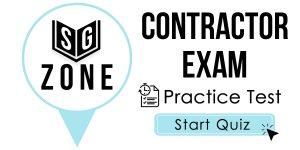 Contractor Exam