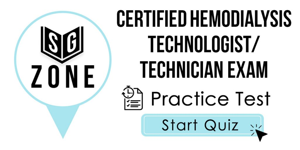 CHT Exam Practice Questions