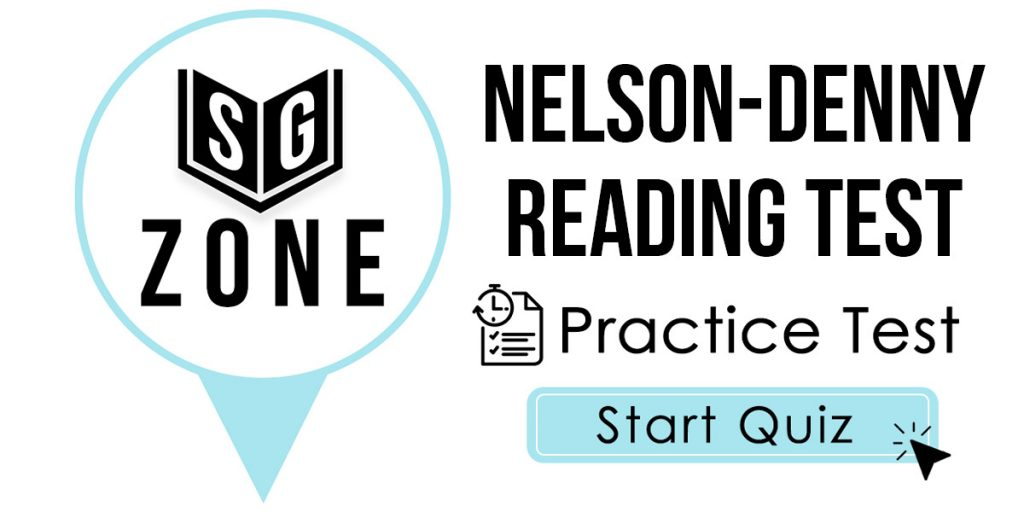 Nelson-Denny Reading Test
