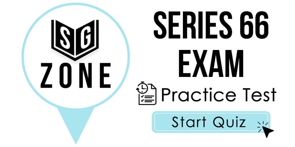 Series 66 Exam
