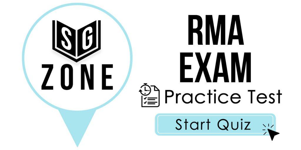 RMA Exam