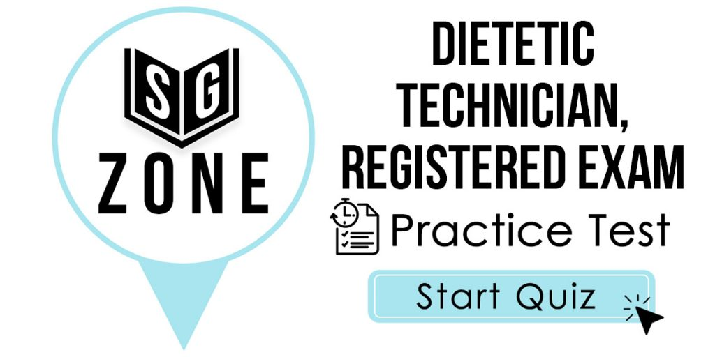 Dietetic Technician, Registered Exam