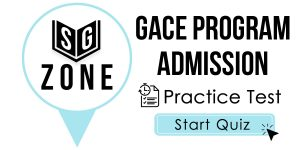 GACE Program Admission Test