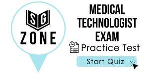 Medical Technologist Exam