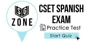 CSET Spanish Exam