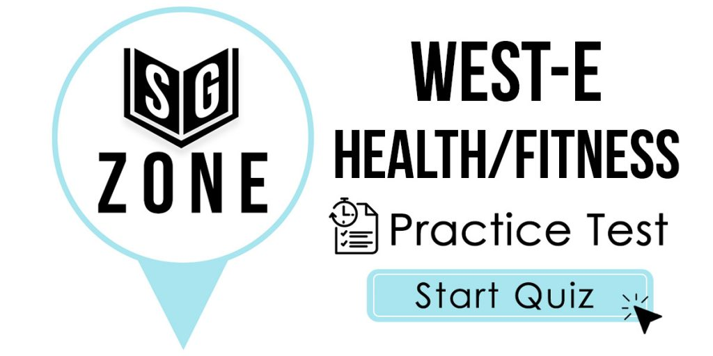 WEST-E Health/Fitness Test