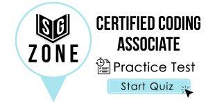 Certified Coding Associate Test