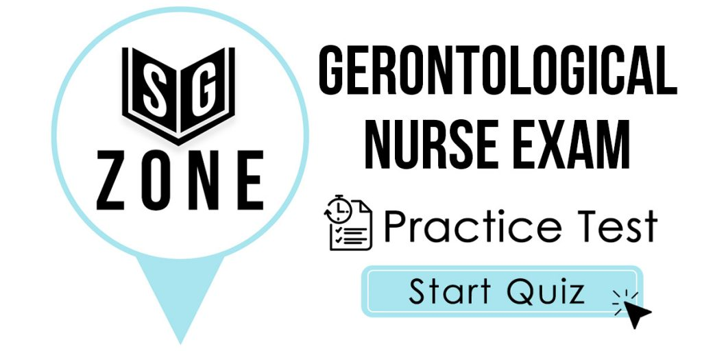 Gerontological Nurse Exam