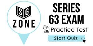 Series 63 Exam