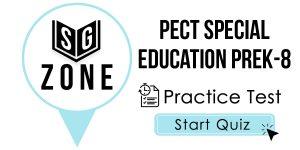 PECT Special Education PreK-8 Test