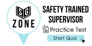 Safety Trained Supervisor Test