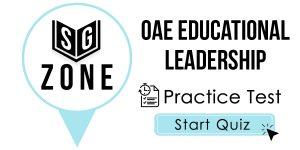 OAE Educational Leadership Test