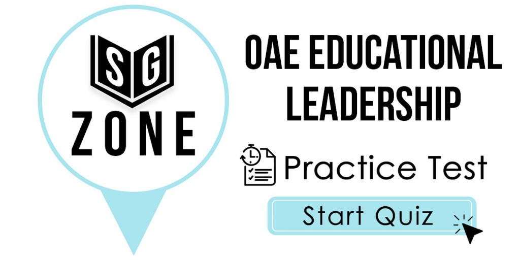 OAE Educational Leadership Test