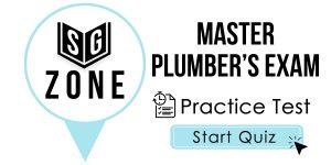 Master Plumber's Exam